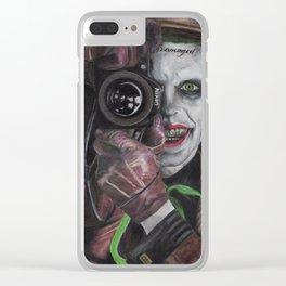 Killing Joke Leto Fan Art Clear iPhone Case