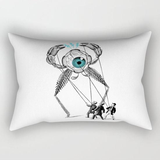 The Taming  Rectangular Pillow