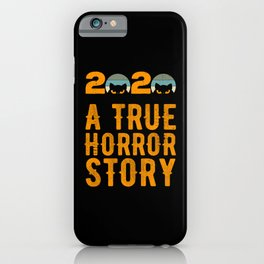 2020 Horror Story Halloween iPhone Case