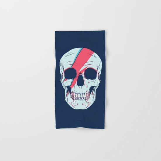 Bowie Skull Hand & Bath Towel
