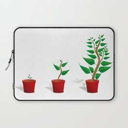 Plant Growth Laptop Sleeve