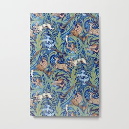 Woodnotes by Walter Crane Metal Print