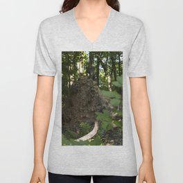 Fallen Tree Unisex V-Neck