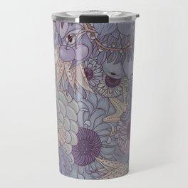 the wild side - icy tones Travel Mug