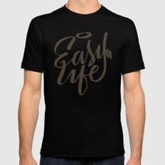 Easy Life Black MEDIUM Mens Fitted Tee