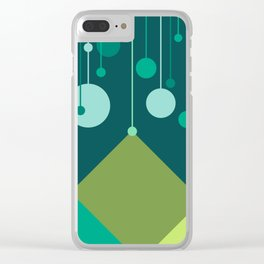 Green Mountain Clear iPhone Case