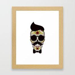Mr. Sugar Skull Framed Art Print