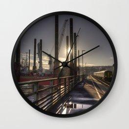 Dawlish Wave Sprinter Wall Clock
