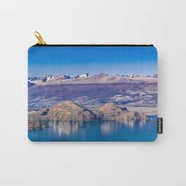 Lake and Mountains Landscape, Patagonia, Chile Carry-All Pouch