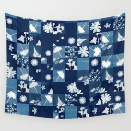 Flower Quilt Wall Tapestry