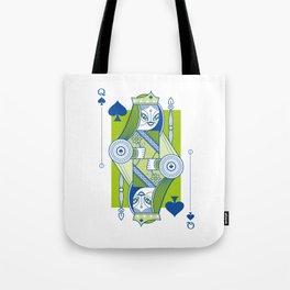 Delirium Queen of Spades Tote Bag