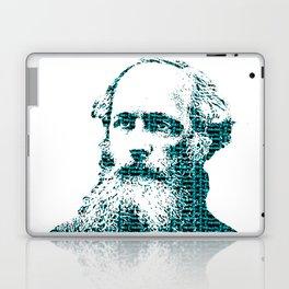 James Clerk Maxwell's Equations Laptop & iPad Skin