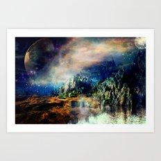 Cosmic Xanadu Art Print