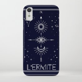 The Hermite or L'Ermite Tarot iPhone Case