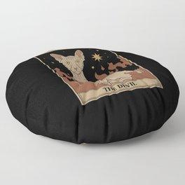 The Devil Floor Pillow
