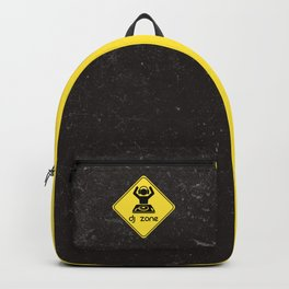 DJ Zone Rave Quote Backpack