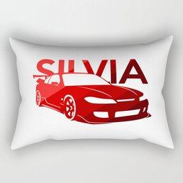Nissan Silvia S15 - classic red - Rectangular Pillow