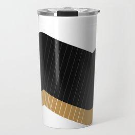 Crunchy Lines, No. 1 Travel Mug