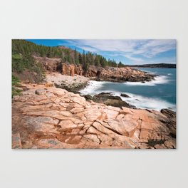 Acadia National Park - Thunder Hole Canvas Print