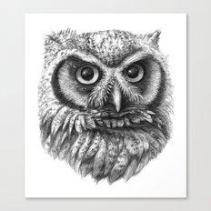 Intense Owl G137 Canvas Print