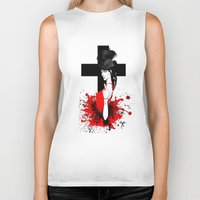 religion Biker Tanks featuring BAD RELIGION by Anna d'Ark