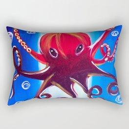 Dancing Octopus Rectangular Pillow