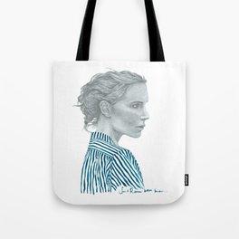Fashion Illustration 'Rebecca' Tote Bag
