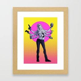 Cool Grrl Framed Art Print