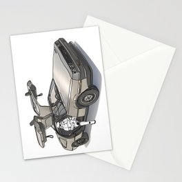 Stormtroooper in a DeLorean - star wars Stationery Cards