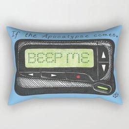 Date First, Fight Later Rectangular Pillow
