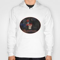 basketball Hoodies featuring Basketball by LoRo  Art & Pictures