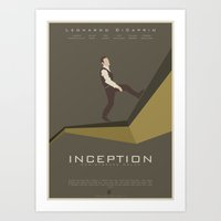 inception Art Prints featuring Inception by Sherry Sharmila