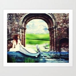 Beloved Bride Art Print