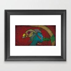 Siamese God Framed Art Print