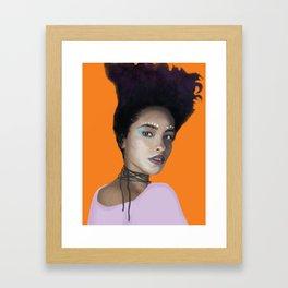 Afro Punk Framed Art Print