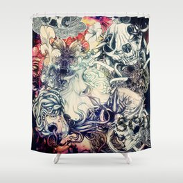 Second Mix Shower Curtain