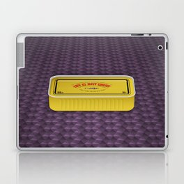 Life Is Just Great On Low Budget Too Laptop & iPad Skin