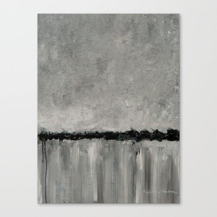 Grey Morning Canvas Print