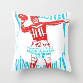 Minneapolis vs Stapleton Throw Pillow