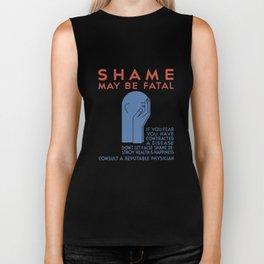 Shame May Be Fatal -- WPA Poster Biker Tank