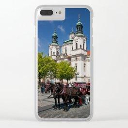 St. Nicholas Church Clear iPhone Case