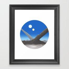 Otherworld View #1 Framed Art Print