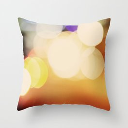 City Blur Throw Pillow