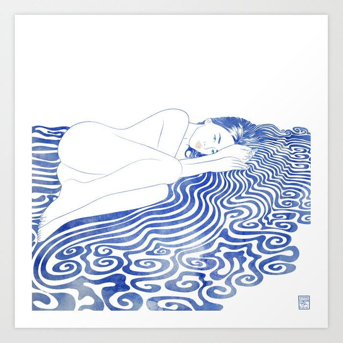 Water Nymph XXVIII Art Print