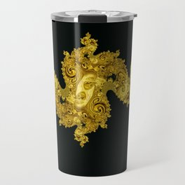 figure on the background Travel Mug