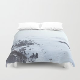 After the snow comes the sun Duvet Cover
