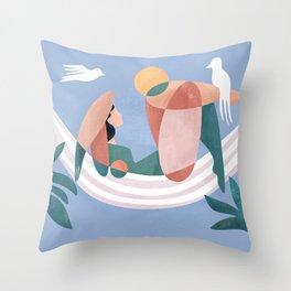 Songbird Solace Throw Pillow