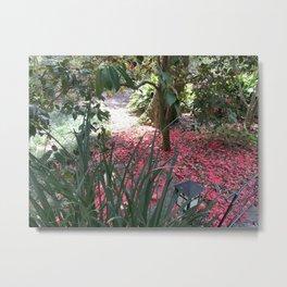 Camelia - End of Blossom Metal Print