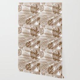Palm leaves Wallpaper