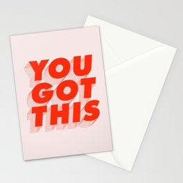 You Got This Stationery Cards